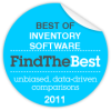 ABC Inventory Software - best inventory software award by FindTheBest.com